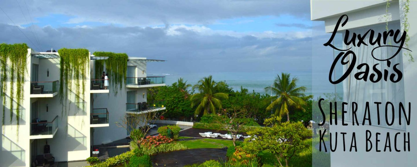 Sheraton Bali Kuta Resort Video Tour | 5 Star Oceanfront Luxury