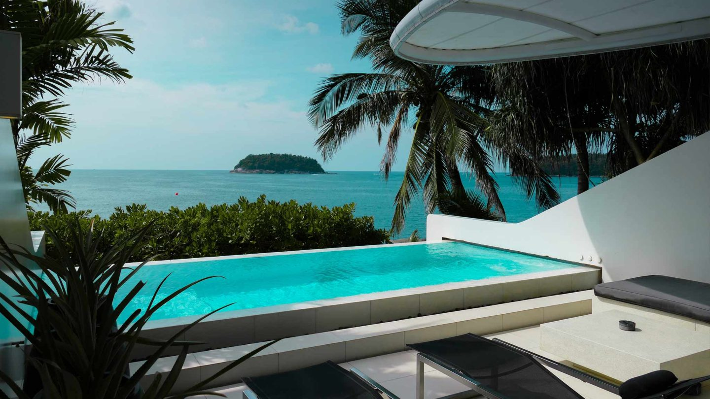 Phuket | Kata Rocks Oceanfront Villas (Review for FEMALE Mag)